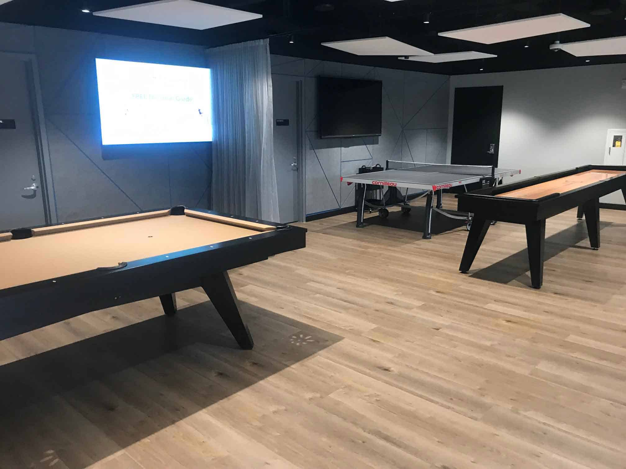 greenwich ct game room