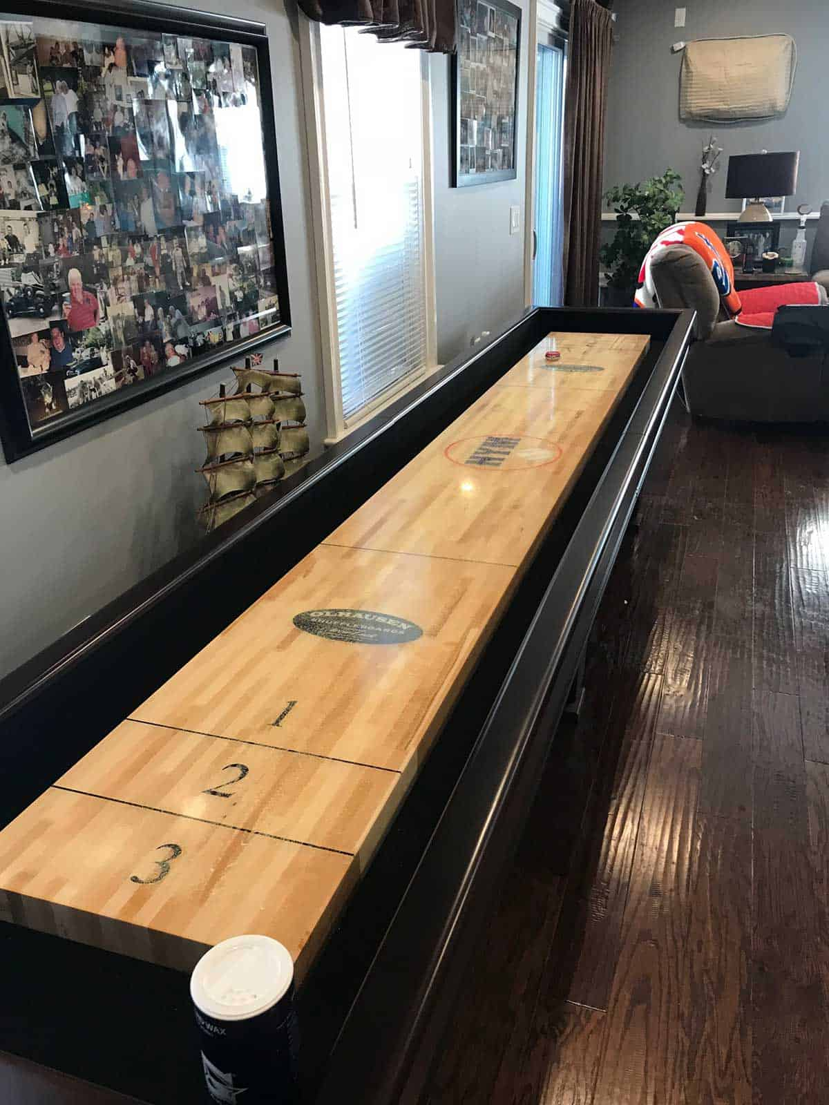 rooms game for pool matching shuffleboards pinterest breckenridge olhausen table and sale pin basements shuffleboard