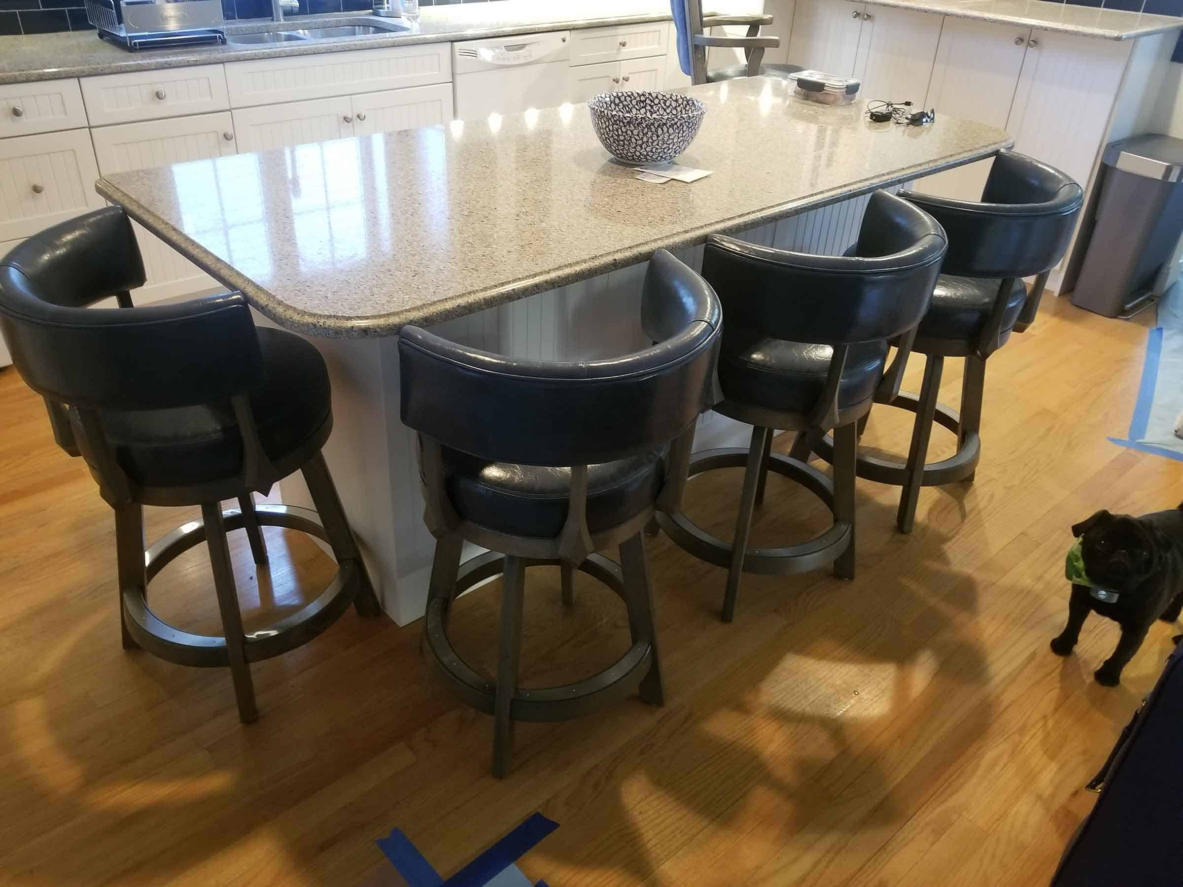 milford ct kitchen island with barstools