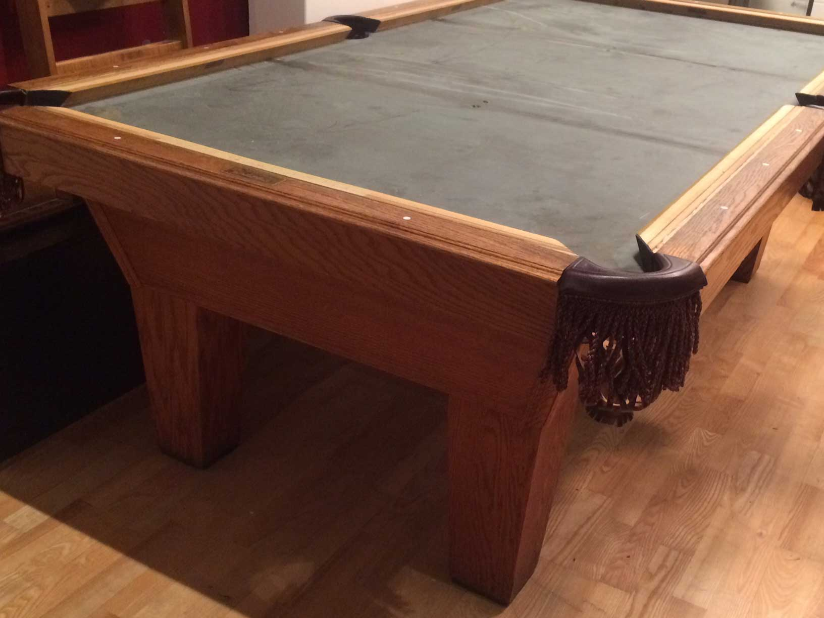 pool tables sale accesskeyid table olhausen alloworigin refurbished rams leg for disposition head